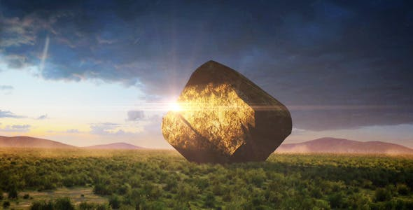 Mysterious Rock by orangeornate | VideoHive