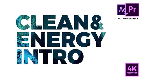 Clean & Energy Intro - VideoHive product image