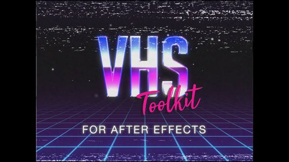 VHS Toolkit for After Effects by EnchantedStudios | VideoHive
