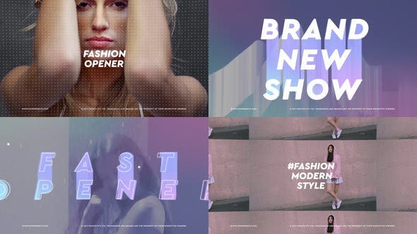 Videohive Fashion Brand Show Opener Free Download
