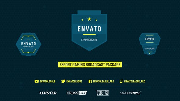 Esport Gaming Broadcast Package by c0sm1c   VideoHive