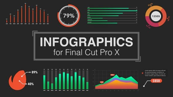 Infographics Builder for Final Cut Pro X by LaurentiuDorin