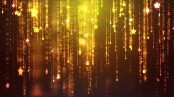 Fly Into Stars Falling Background by dr911 | VideoHive