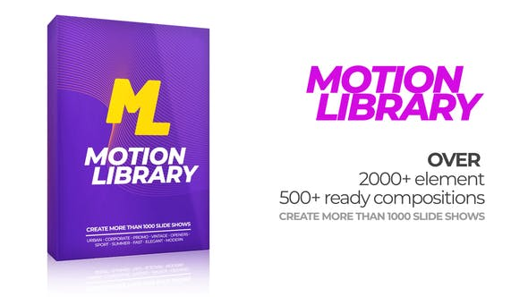 Motion Library Pack by ae-rocket | VideoHive