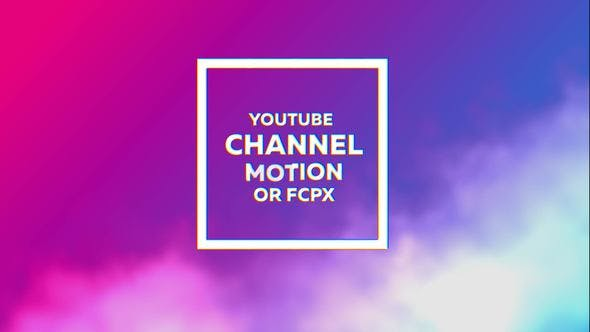 Glitch Youtube Channel Kit by honypix | VideoHive