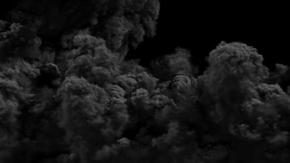 Dark Smoke Transitions by 3D_Background | VideoHive