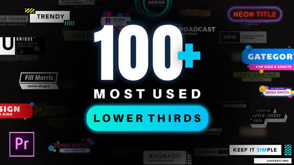 Lower Thirds Pack | MOGRT - VideoHive product image