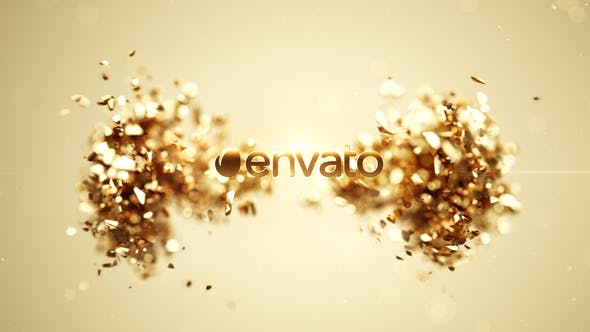 Videohive Golden Splash Logo 2 Free Download
