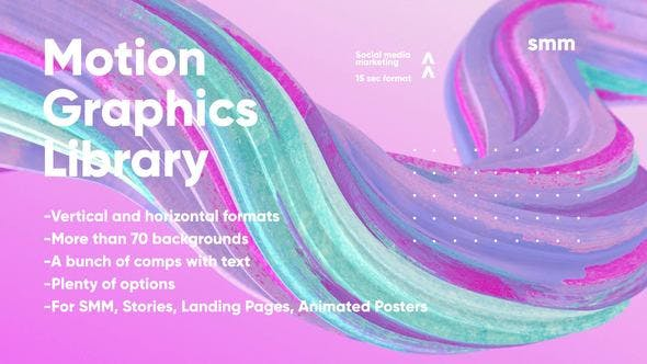 Motion Graphics Library by MotionMediaGroup | VideoHive