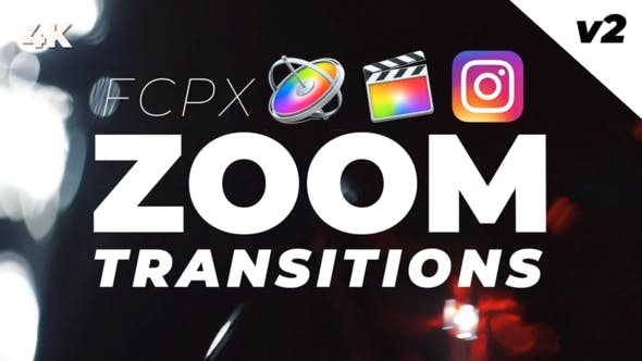 FCPX Zoom Transitions by BobJacksonHive | VideoHive