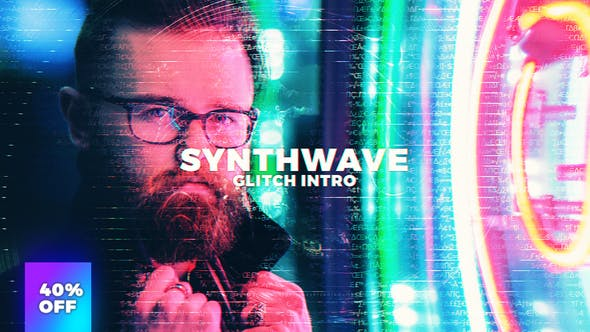 Synthwave After Effects Templates from VideoHive