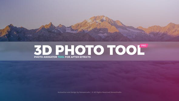 3d Photo Tool Pro Professional Photo Animator By Reneestudio Videohive