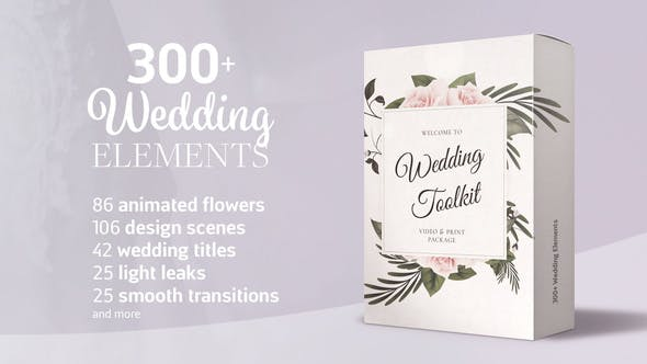 Wedding Video Elements - Titles, Transitions and more
