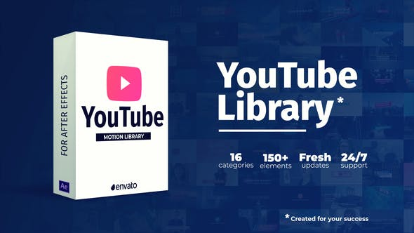 Youtube Library by Nick_Chvalun | VideoHive