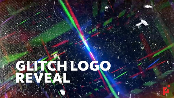 Glitch Logo Reveal - VideoHive product image