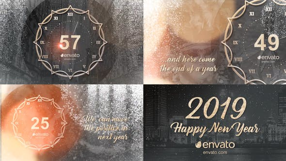 Videohive New Year Countdown 2019 21028229 Free Download