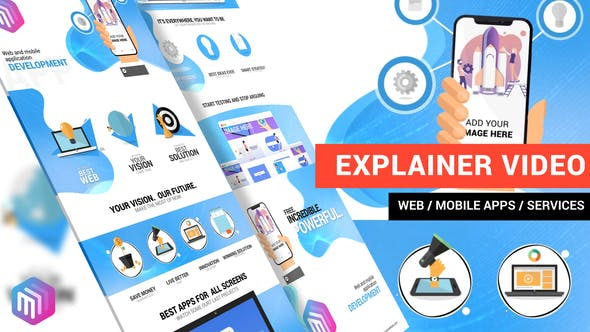 EXPLAINER VIDEO | WEB AND MOBILE APPS, ONLINE SERVICES