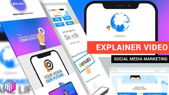 Explainer Video | Social Media Marketing by JBMotion | VideoHive