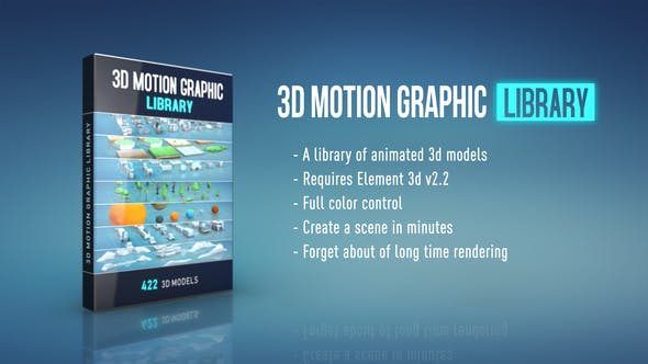 3D Motion Graphic Library by Lost_Pixel | VideoHive