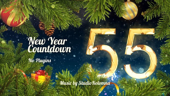 Christmas Countdown 2019.New Year Countdown 2019 By F I Videohive