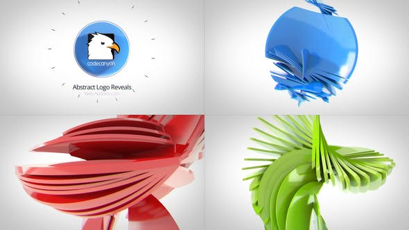 Videohive Abstract Logo Reveals Free Download