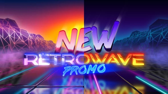 New Retrowave Promo by NickTheCaptain | VideoHive