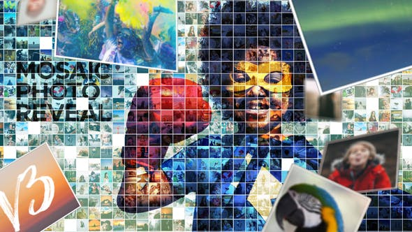 Mosaic Photo Reveal by yeaboy | VideoHive