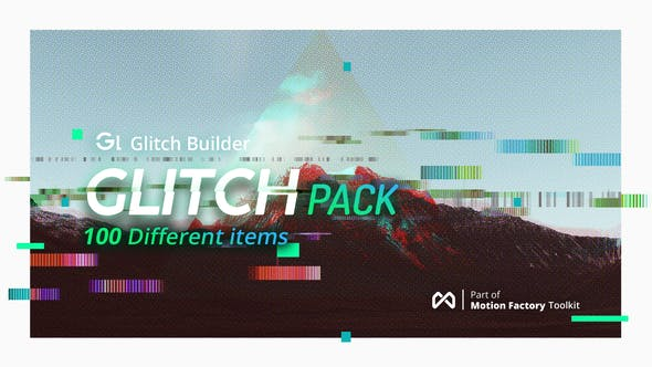 Glitch Pro | Essential Glitch Effects Pack by Pixflow | VideoHive