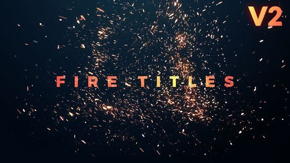 Fire Titles by edum | VideoHive