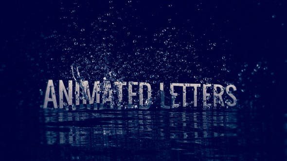 After Effects Water Title Templates from VideoHive