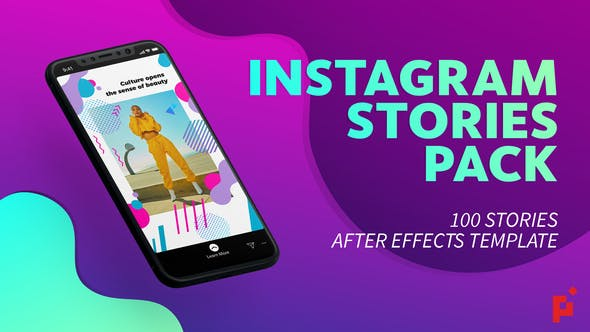 Videohive 100 Instagram Stories Free Download
