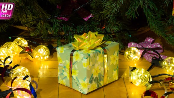 Christmas Gifts For The Whole Family (Stock Footage)