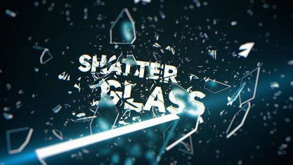 Videohive Shatter Glass Trailer Free Download