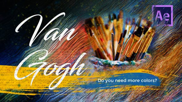 Van Gogh - Creative Slideshow by AeNovocaine | VideoHive