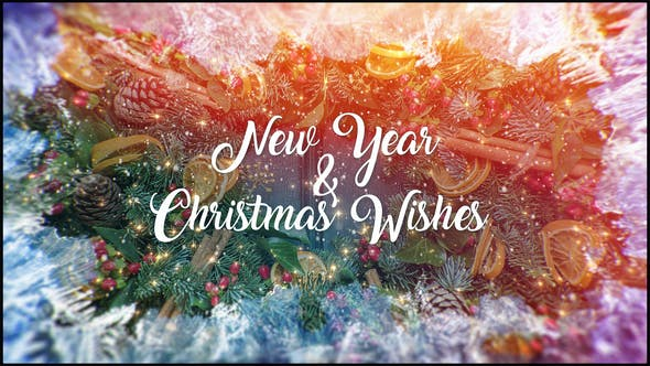 christmas and new year wishes by stevepfx videohive inr