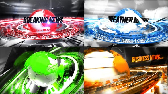 24 Broadcast News - Complete Package by donvladone   VideoHive