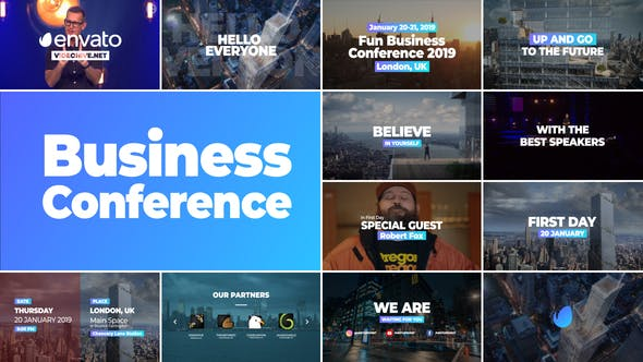 Business Conference Promo by Make-Space | VideoHive