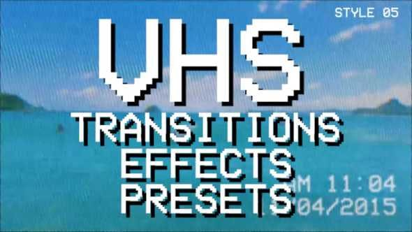 VHS Pack: transitions, effects, presets by motion_rb | VideoHive