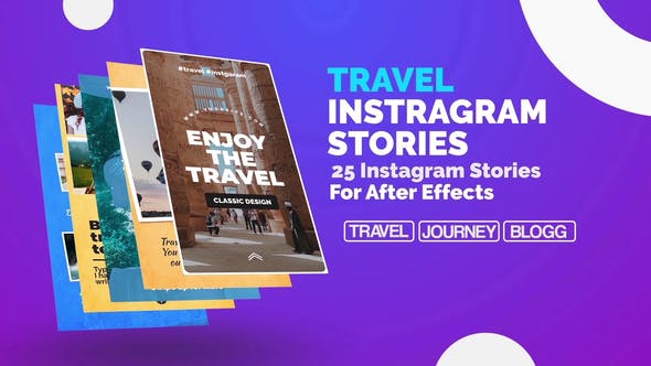 Travel Instagram Stories by Media_Stock | VideoHive