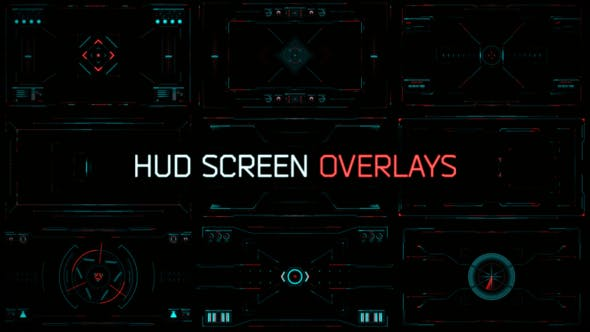 HUD Screen Overlays by Treedeo | VideoHive