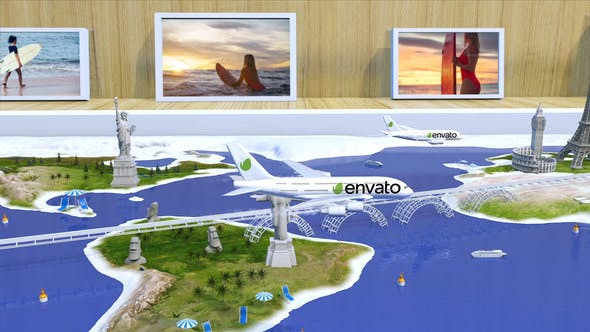 Videohive Travel With Us – Airlines Free Download