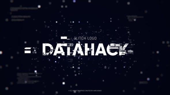 Glitch Logo - Data Hack for Premiere Pro Premiere Pro