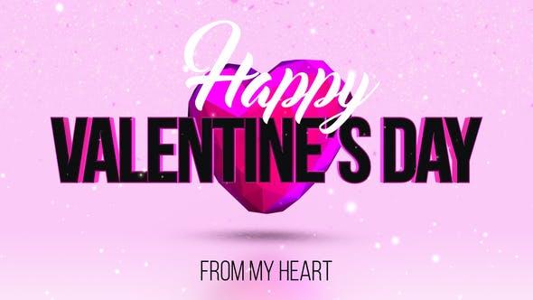 Videohive Valentine's Day 23216212 Free Download