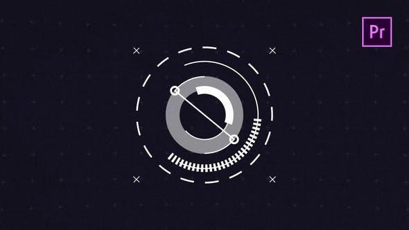 2D Hi-Teck Logo Reveal