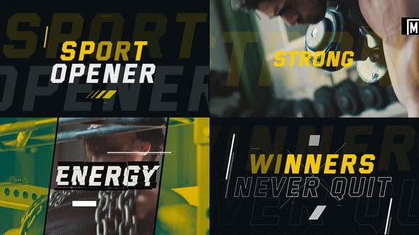 Videohive Sport Opener 23251117 Free