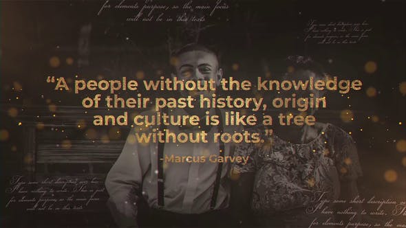 History Quotes by Media_Stock   VideoHive