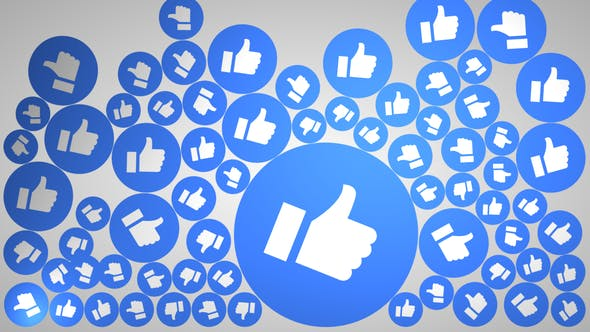 Facebook Likes Falling by peppertv | VideoHive
