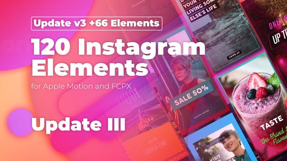 Instagram Stories for Apple Motion and FCPX by CinemaEternal | VideoHive