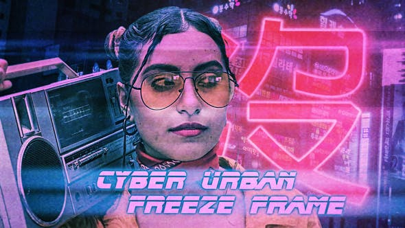 Videohive Cyber Urban Freeze Frame Opener – Premiere Pro Free Download
