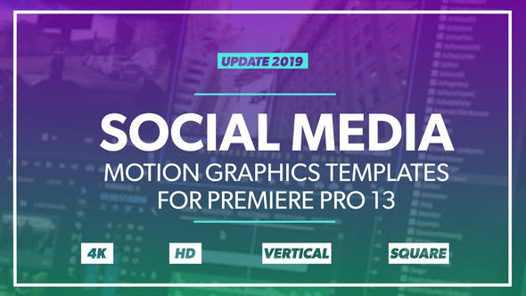 Auto Resize Social Media Graphics Pack by FluxVFX-templates